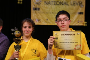 Nikol Petrova from Pleven and Vladimir Zhivkov from Lovech were declared co-champions in the national final 2016.
